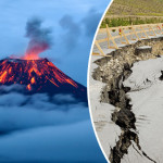 Volcano will explode and the world trembled terrible earthquake Experts have warned about the threat