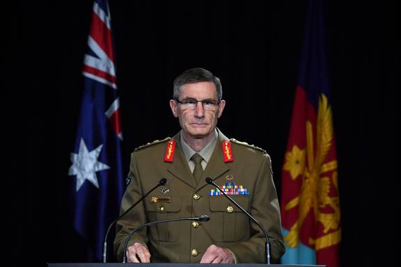 General Angus Campbell, a senior Australian military official