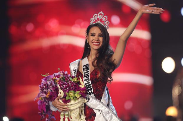 Philippines-born Australian model and TV host Catriona Gray
