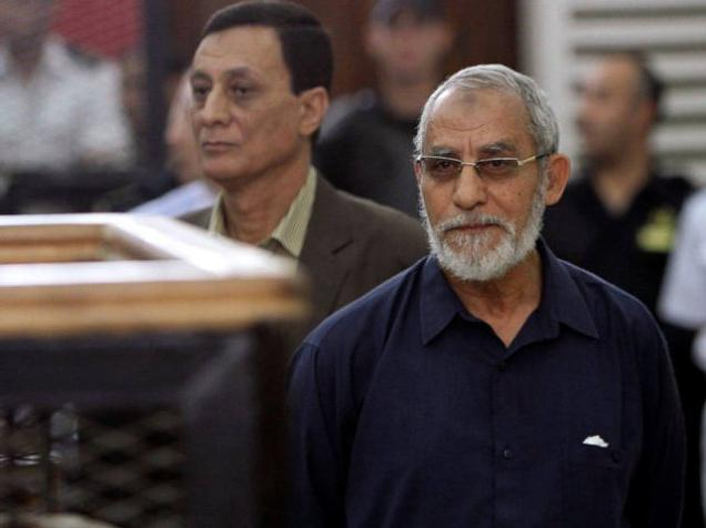 Muslim Brotherhood leader Mohammad Badie