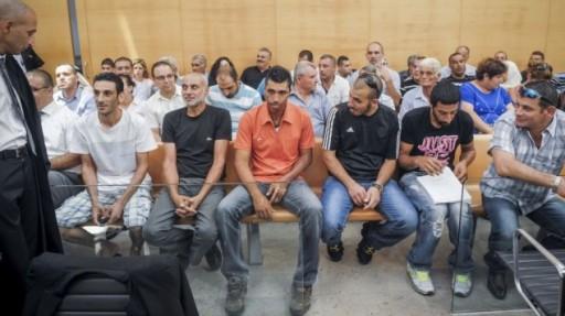 Israeli court sentenced six Arab citizens