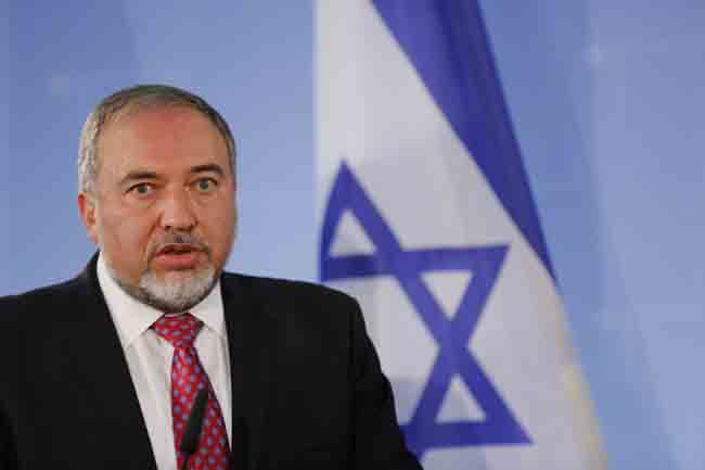 Avigdor Lieberman, head of Israel Beiteinu
