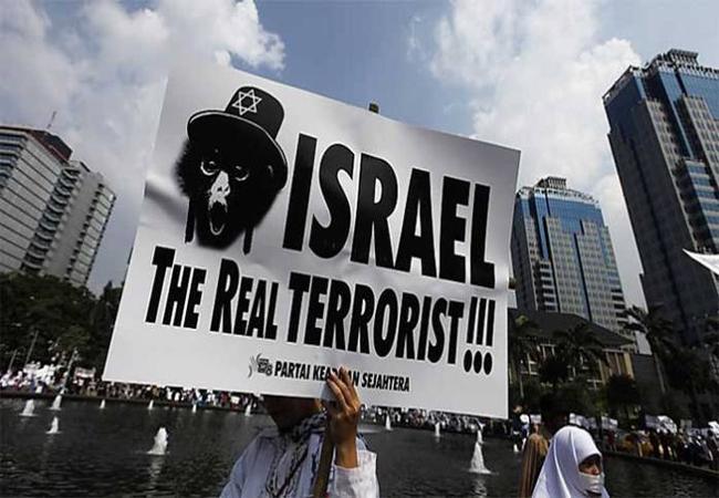 Israel is a terrorist state