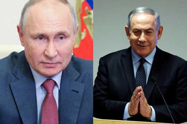 Putin warns Netanyahu to declare war on Israel