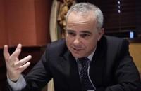 Israeli Energy Minister Yuval Steinitz's