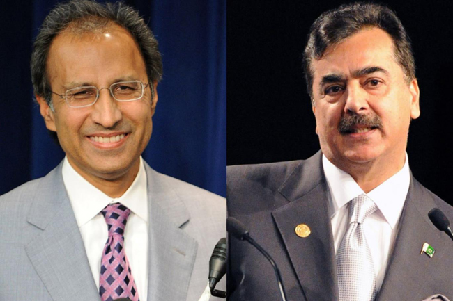 Former PM Yousuf Raza Gilani to face Finance Minister Abdul Hafeez Sheikh in Islamabad