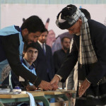 In Afghanistan, less than 25% of the people voted, which is lower than the last three presidential elections.