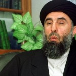 Gulbuddin Hekmatyar, head of the Afghan Hizb-e-Islami