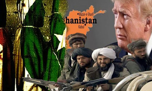 The Trump administration signed peace agreements with the Afghan Taliban in February 2020