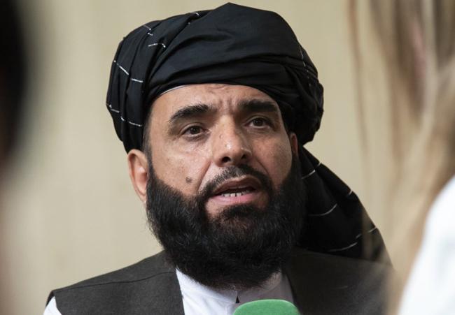 Sohail Shaheen, spokesman for the Afghan Taliban's Qatar office
