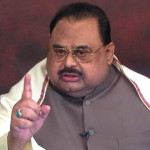 MQM London founder Altaf Hussain