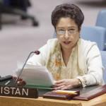 Pakistan's U.N. Ambassador Maleeha Lodhi