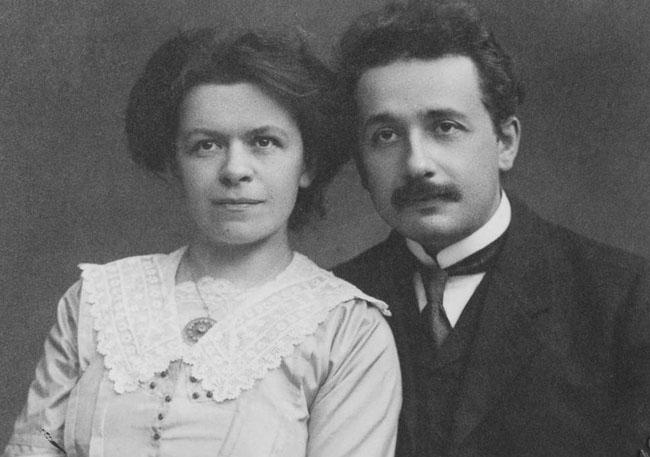 Albert Einstein's first wife Mileva Maric