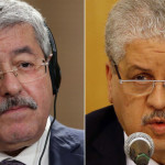 File photo of former Prime Ministers Ahmed Ouyahia and Abdelmalek Sellal sentenced by Algerian court