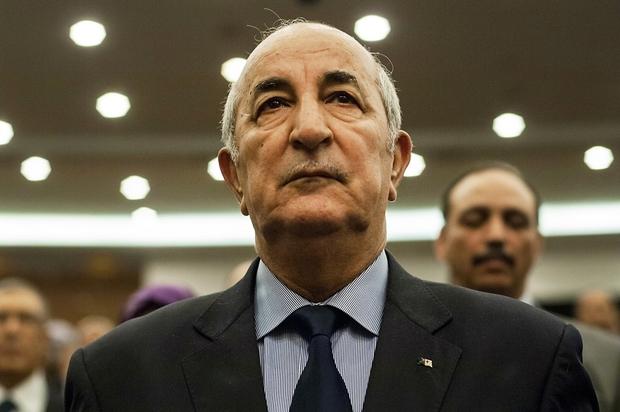 Algerian Prime Minister Abdelmadjid Tebboune