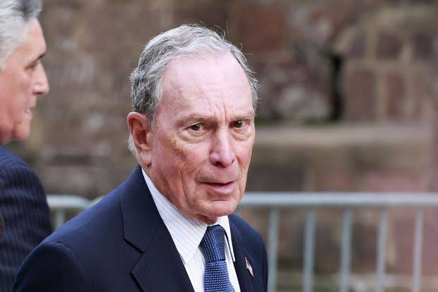 US billionaire businessman Michael Bloomberg