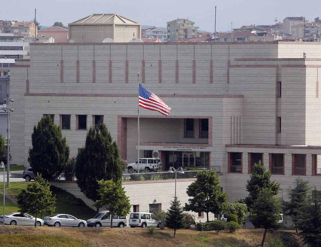 The US suspended the visas from its embassies and consulate in Turkey