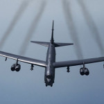 US B-52 fighter jets