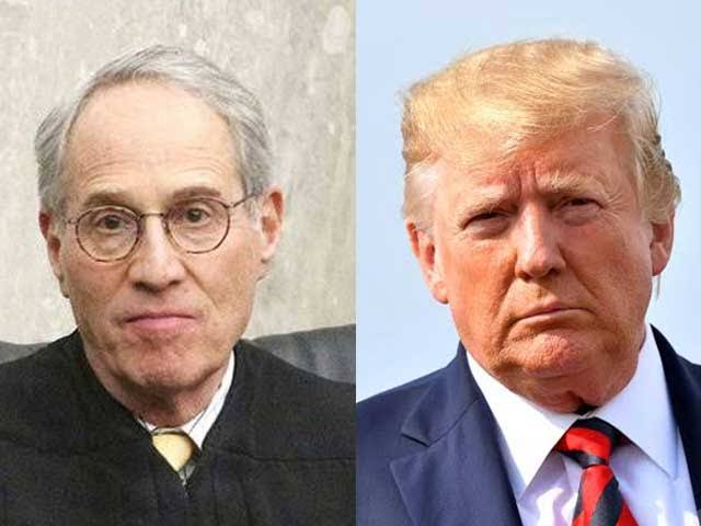 US Federal Judge Paul Friedman and President Donald Trump