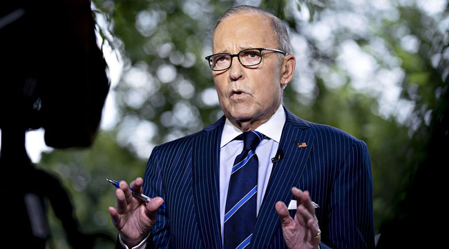 US  Economic Adviser Larry Kudlow