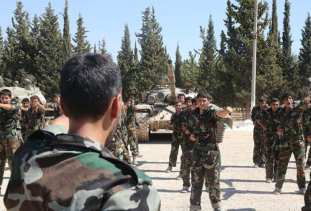 The Britain America prepared for training Syrian rebels