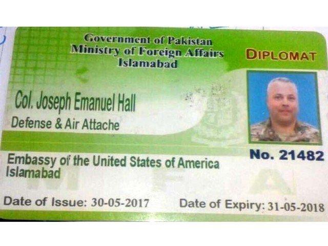 US diplomat Colonel Joseph