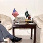 Olson and Pakistani Finance Minister