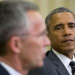 US President Barack Obama and NATO Secretary General Jens Stoltenberg