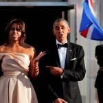 US President Barack Obama final State Dinner before leaving the White House