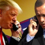 Telephone call in US President Donald Trump and Turkish President Tayyip Erdogan