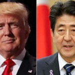US President Donald Trump and Japan Prime Minister Shinzo