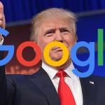 US President Donald Trump criticized Google