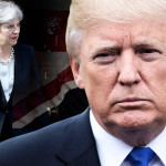 US President Donald Trump cancelled a visit to Britain