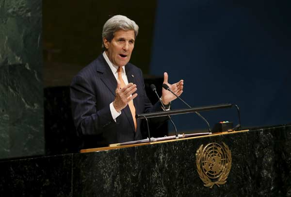 US Secretary of State, speaking at UN meeting