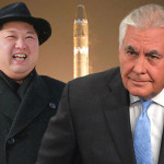 US Foreign Minister Rex Tillerson and North Korean leader Kim Jong-un