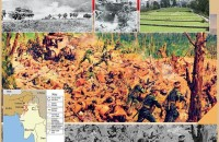 The attack on Kohima springed in the spring of 1944