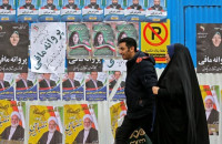 Competition between about 7100 candidates for 290 seats in the elections