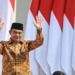 Muhadjir Effendy, 63, the Indonesian Federal Minister for Cultural and Human Development