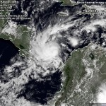 Otto named hurricane hits today, Costa Rica and Nicaragua