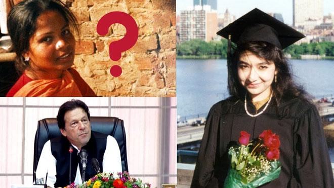 Pakistan's double standards over Asia Christ and Aafia Siddiqui
