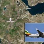 Ethiopian Airways passenger plane 737 Max .8