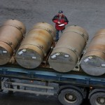 Iranian ship carrying 805 tons of enriched uranium to Moscow has been reached.