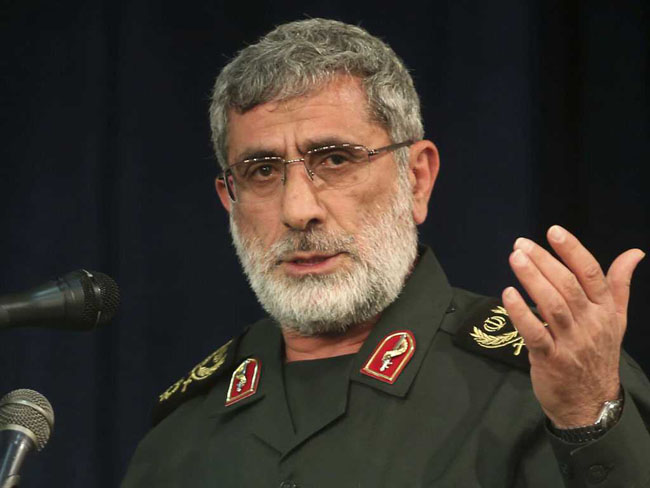 Iranian Revolutionary Quds Force's new head of Quds Force