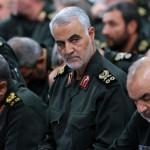 General Qasem Soleimani, head of the Iranian Revolutionary Revolution
