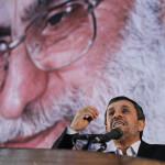 Iran's supreme leader Ayatollah Ali Khamenei and President Mahmoud Ahmadinejad