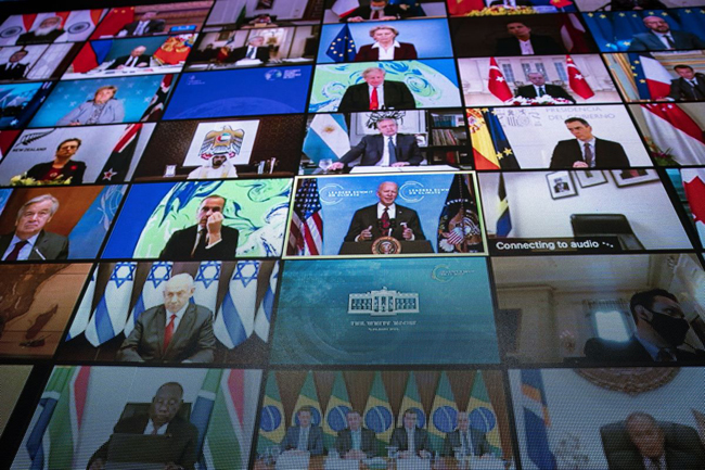 On April 22, a virtual summit on the environment convened by US President Joe Biden was attended by leaders from 40 countries.