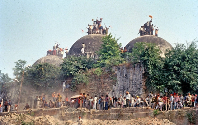 Babri Masjid incident hooked heads of India, Indian President