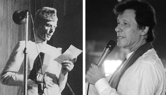 Founder of Pakistan, Quaid-e-Azam Mohammad Ali Jinnah and 'Naya Pakistan's Prime Minister Imaran Khan