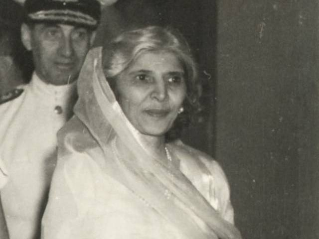Mother of the Nation, Fatima Jinnah sister of the founder of Pakistan, Quaid-e-Azam Muhammad Ali Jinnah