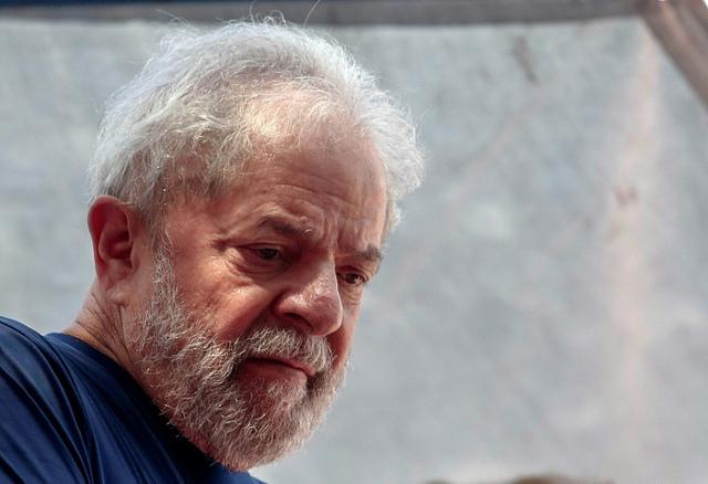 Brazil's former president Lula da Silva